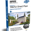 CH Pro 10x12 Shed Plan HACKPack™